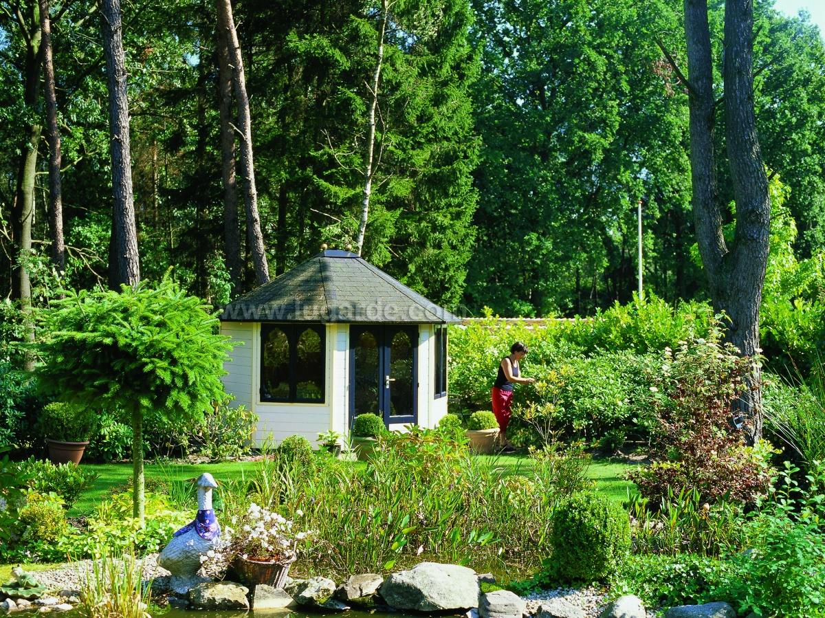 Garden Summer Houses Wildforest Log Cabins